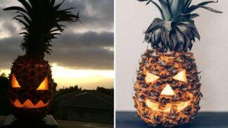 Zapomeňte na dýně. Letošním hitem Halloweena jsou strašáci z ananasů!