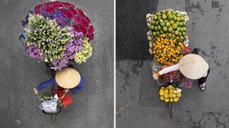 Holanďanka fotí pouliční prodavače v Hanoji. Nádherné snímky ale mají svou temnou tvář