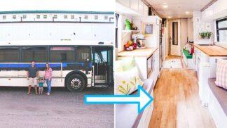 Seznamte se s americkou rodinou, která bydlí ve starém autobusu