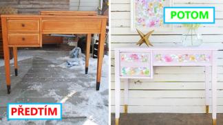 9 brilantních způsobů, jak vyčarovat nový nábytek, aniž byste potřebovali kouzelnou hůlku