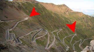 Noční můra řidičů: Tohle jsou ty nejděsivější a nejnebezpečnější silnice světa