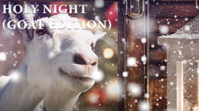 Zpívající kozy vám přejí veselé Vánoce. Poslechněte si jejich nové album!