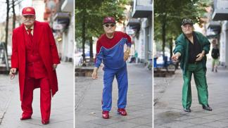 Starý krejčí (86) je stylovější než teenager. Do práce chodí každý den v jiném outfitu