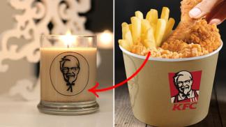KFC nechalo vyrobit svíčku, co voní jako smažené kuře