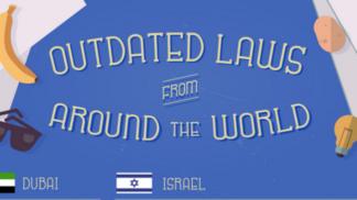 34 bizarních zákonů ze světa, které čekají na své zrušení # Thumbnail