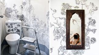 Tato žena proměnila svůj záchod v nejmagičtější místo domácnosti