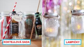 11 božích způsobů, jak vylepšit Silvestra pomocí zavařovacích sklenic