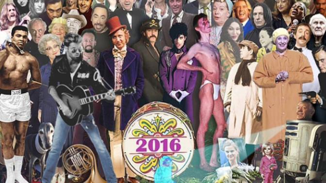 Proč tolik slavných osobností zemřelo v roce 2016
