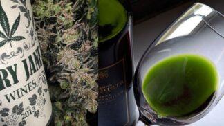 S marihuanovým vínem vplujete do nového roku zlehka…