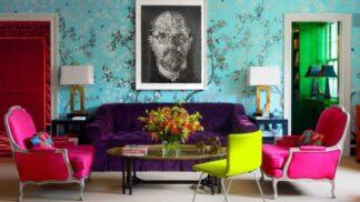 15 místností, které nestydatě oslavují výrazné barvy