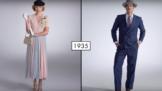Thumbnail # Jak se změnila móda v posledních 100 letech? Zjistěte to v tříminutovém videu!