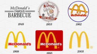 Podívejte se, jak 14 slavných značek změnilo své logo