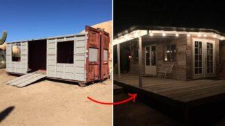 Tento pár bydlí v kontejneru. A luxusně!