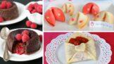 3 valentýnské dezerty, které vašeho partnera přivedou na nestydaté myšlenky