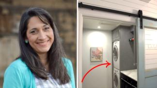 Matka 6 dětí ukázala svou vymazlenou prádelnu. Miliony hospodyněk jsou u vytržení