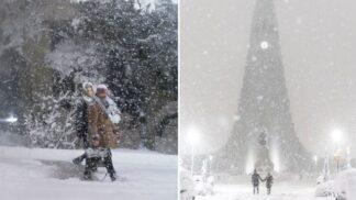 Islandem se prohnala rekordní sněhová bouře… a proměnila ho v pohádkovou Narnii