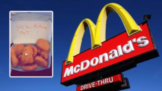 Američanka dostala zásnubní prsten v kuřecí nugetce od McDonald's