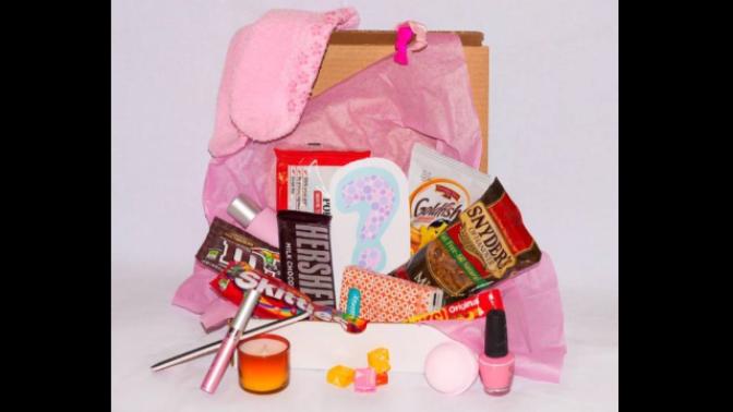 Představujeme The PMS Package, menstruační krabičku první pomoci