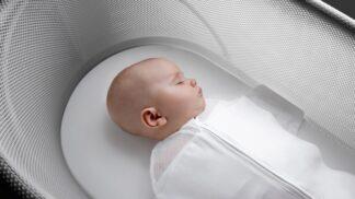 Kolébka SNOO se o miminko postará i v noci – aby maminky mohly klidně spát