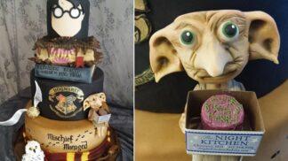 Příznivci Harryho Pottera zalapají po dechu, až uvidí tento dort
