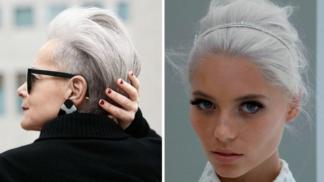 17 žen, které dokazují, že stříbrné a bílé vlasy mají styl (i ve dvaceti)