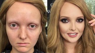 Živoucí Photoshop. Make-up artistka mění ženy v učiněné bohyně