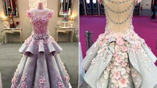 Tyto svatební šaty učarují nevěstám, které zbožňují sladké…