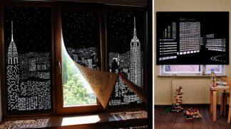 S těmito roletami si budete připadat jako v mrakodrapu na Páté Avenue