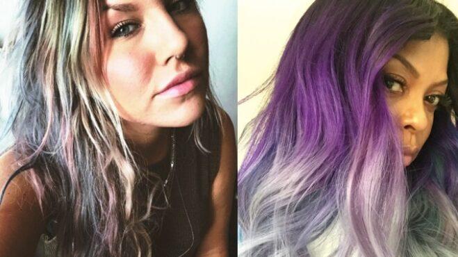 Kolik barev na vlasech máš, tolikrát jsi trendy. Duhová koruna krásy připomíná díla slavných malířů i panenku Barbie