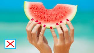 Boží způsob, jak naporcovat meloun, abychom po snědení neměli ulepené ruce