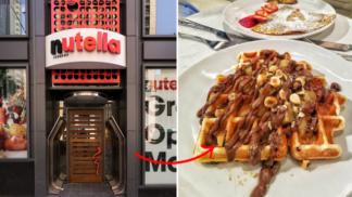 V Chicagu otevřeli první Nutella restauraci na světě. Návštěvník si prý připadá jako v obří sklenici s pomazánkou