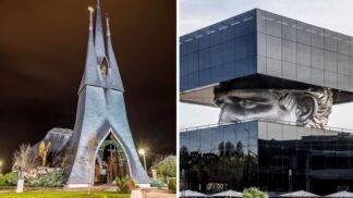 13 strašidelných budov světa, co připomínají sídla největších filmových darebáků
