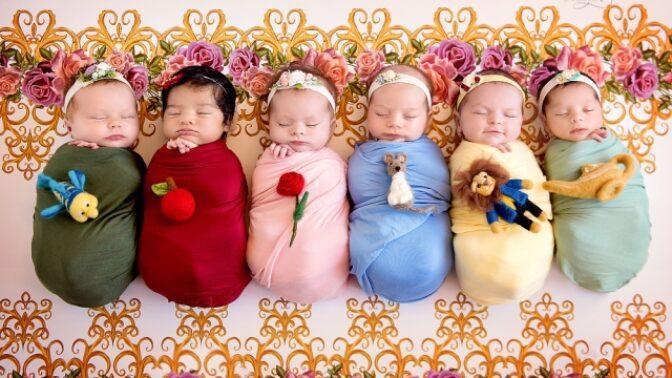 GALERIE: Tohle jsou bezesporu ty nejmenší a nejroztomilejší Disney princezny, jaké jste kdy viděli