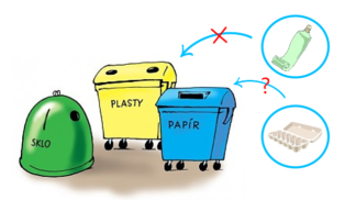 Tisková mluvčí EKO-KOM: 17 nejčastějších omylů při třídění odpadu