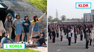 GALERIE: Litevec nafotil šokující rozdíly mezi životem v Severní a Jižní Koreji