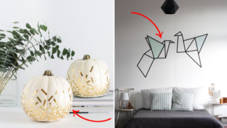 Nuda v domě není pro mě: 20 nápaditých způsobů, jak rozveselit domov pomocí washi pásky