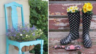 Květináč je out. 10 míst pro pěstování květin, co mají styl