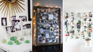 30 kreativních způsobů, jak vystavit rodinné fotografie