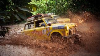 Žluté trabanty dobývají svět: Nejzajímavější fotky z Jižní Ameriky vám přiblíží slasti i strasti expedice