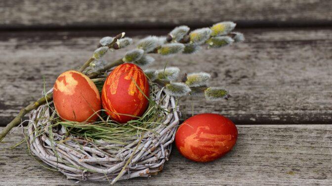 Jak obarvit velikonoční vajíčka přírodní cestou: Využijte ingredience z lednice a ze spíže