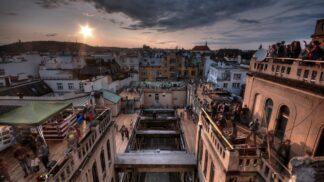 110 let od dokončení paláce Lucerna: Užijte si pohled ze střechy budovy, která povznesla velkoměstský ráz Prahy # Thumbnail