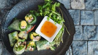 Hit letošního léta: Barevné křupavé rolky plné zeleniny vás zasytí i osvěží