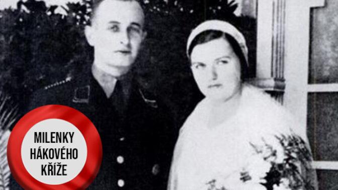 Milenky hákového kříže: Věrný vztah Veroniky Lieblové a nacisty Adolfa Eichmanna skončil tragicky