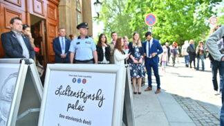 Úřad vlády zpřístupnil 8. května Lichtenštejnský palác! # Thumbnail