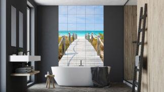 Kachlíčky v průběhu času: Od praktické koupelnové roviny po designový doplněk