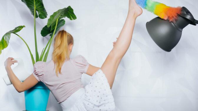 Zhubněte a zpevněte tělo: Rady, jak shazovat kila při úklidu domácnosti