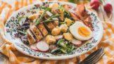 Thumbnail # Jarní menu pro každý den: Hráškový krém, rizoto s červenou řepou nebo salát s kuřecím masem
