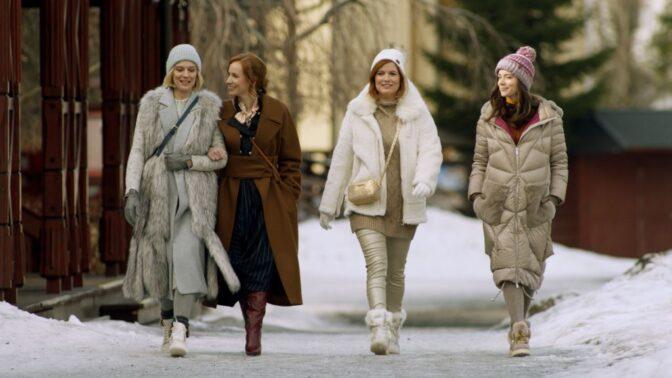 Šťastný nový rok: Kostýmy do filmu připravila stylistka prezidentky Zuzany Čaputové