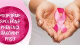 """Zapojte se do kampaně na podporu žen s rakovinou prsu """"Měsíc v růžové"""""""