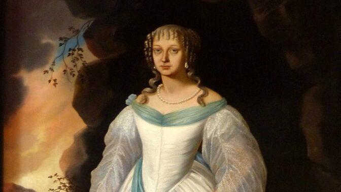 Bílá paní Perchta z Rožmberka byla ve skutečnosti oběť domácího násilí